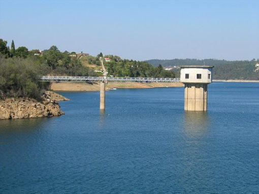Water Intake Tower –  Castelo de Bode Dam, Portugal